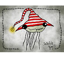 Jellyfish Boy Photographic Print