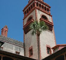 Flagler College, St. Augustine, FL by Margaret  Shark