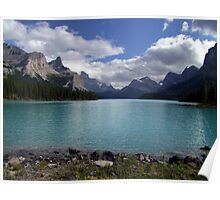 Maligne Lake from Spirit Island Poster