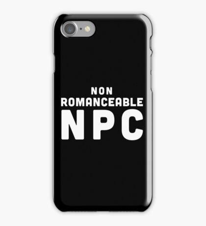 Non-Romanceable NPC iPhone Case/Skin