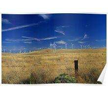 Wind Energy Farm Poster