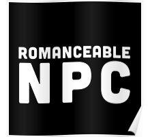 Romanceable NPC  Poster