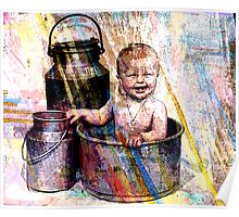 BABY~BUCKETS AND PAILS Poster