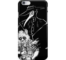 Nystagmus and the Shadow iPhone Case/Skin
