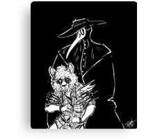 Nystagmus and the Shadow Canvas Print