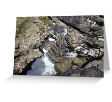 Colors of the Gorge Greeting Card