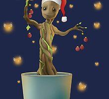 Groot Christmas by RowanArthur93