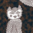 Olive Owl in the Dark by KazM