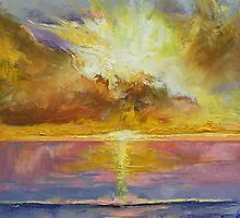 Caribbean Sunset by Michael Creese