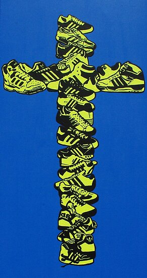 The religion of adidas by Gavin Dobbs