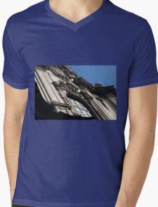 Building Facade 1 Mens V-Neck T-Shirt