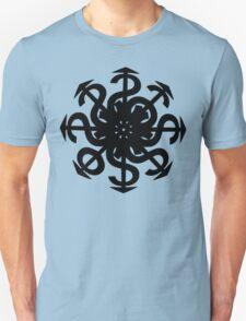 Lucas Darklord Chao$ Logo 2 Black Print T-Shirt