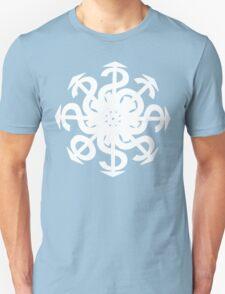 Lucas Darklord Chao$ Logo 2 White Print T-Shirt
