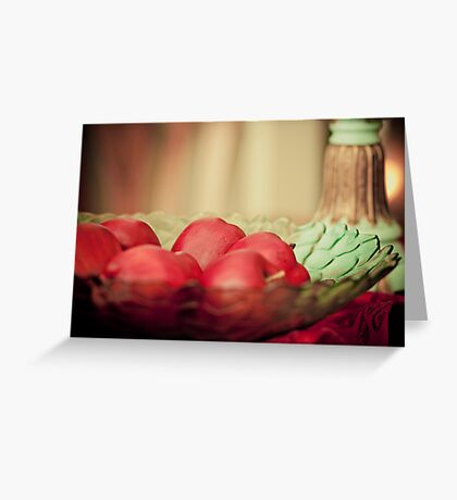 in the still of life Greeting Card