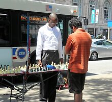 Chess in the City by Kathleen Brant