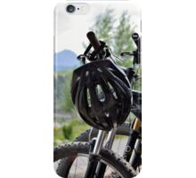 Mountain Bike Breaktime iPhone Case/Skin