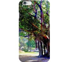 Abstract Banyan Tree iPhone Case/Skin