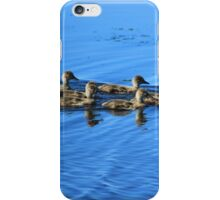 Swimming Ducklings iPhone Case/Skin