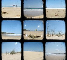 The Beach Through The Viewfinder - TTV by Kitsmumma