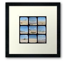 A Day at the Beach - TTV Collective Framed Print