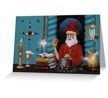 Red Wizards Workshop Greeting Card