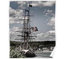 The US Brig Virginia Poster