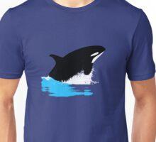 Orca, Killer Whale Breaching Unisex T-Shirt