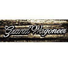 Grand Wagoneer Photographic Print