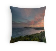 Bilgola Sunset - Bilgola Beach - The HDR Experience Throw Pillow
