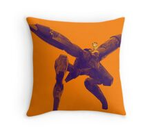 Metal Garf Ray Throw Pillow