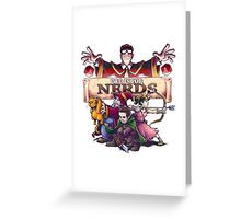 D&D is For Nerds Greeting Card