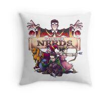 D&D is For Nerds Throw Pillow