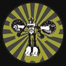 Microbot - Yellow by Phantom Spaceship Design