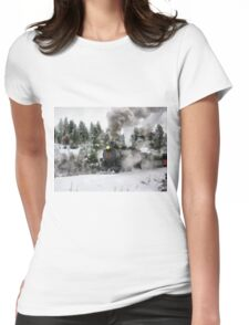 steam power Womens Fitted T-Shirt