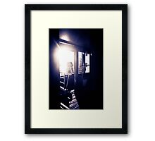 Let the light come in Framed Print