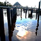 sittin' on the dock of the bay (look for the bird!) by Bridgette O'Keefe