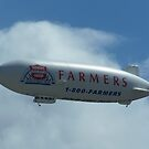 Farmers insurance Dirigible by Gene Ritchhart