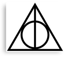 Harry Potter & The Deathly Hallows Canvas Print