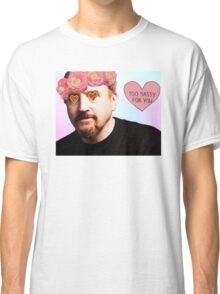 """Too Sassy For You"" Louis C.K. Tumblr Pastel Scene man Classic T-Shirt"
