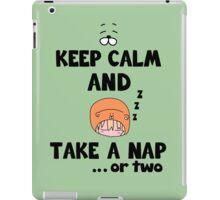 Take a Nap.. or two iPad Case/Skin