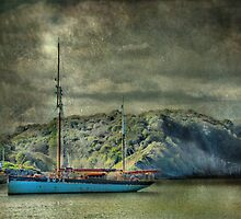 At Anchor by Catherine Hamilton-Veal  ©