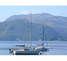 Ulswater Boats Photographic Print
