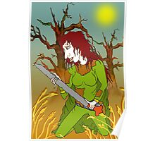Sword Woman of the Old Forest Poster