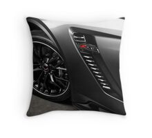 2015 Chevrolet Corvette Z06 Throw Pillow