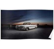 1959 Chevrolet Impala convertible Poster