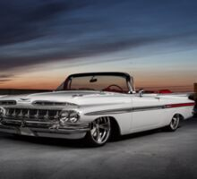 1959 Chevrolet Impala convertible Sticker