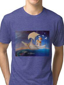 PeaceShip Tri-blend T-Shirt