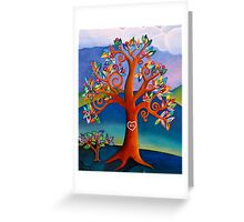 The Kissing Tree Greeting Card