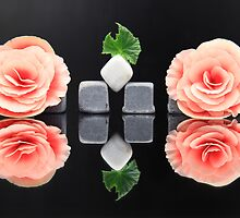 flowers reflection by OlurProd