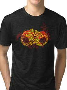 Double Koi Tri-blend T-Shirt